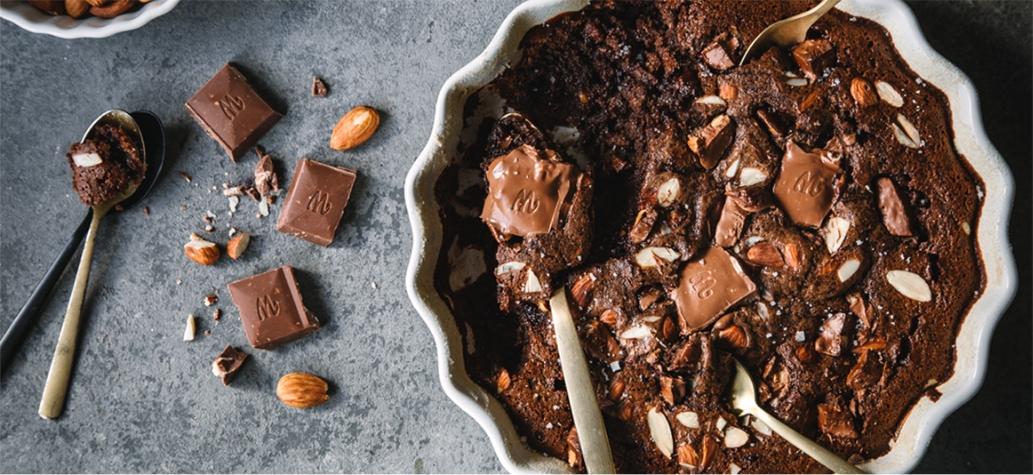 Image for Schokoladenauflauf mit Salzmandeln