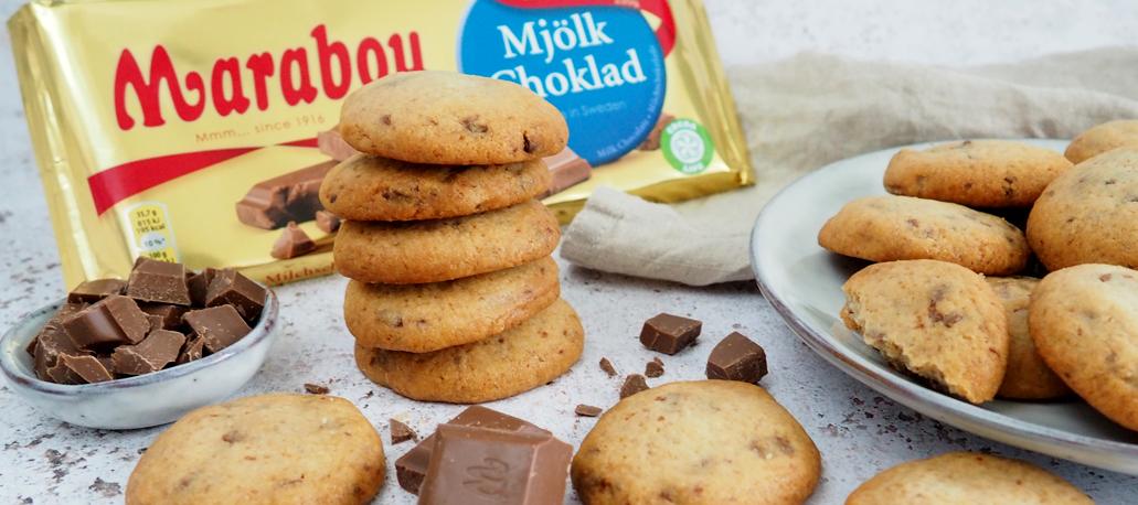 Image for Knusprig, süße Kekse mit Marabou Schokolade